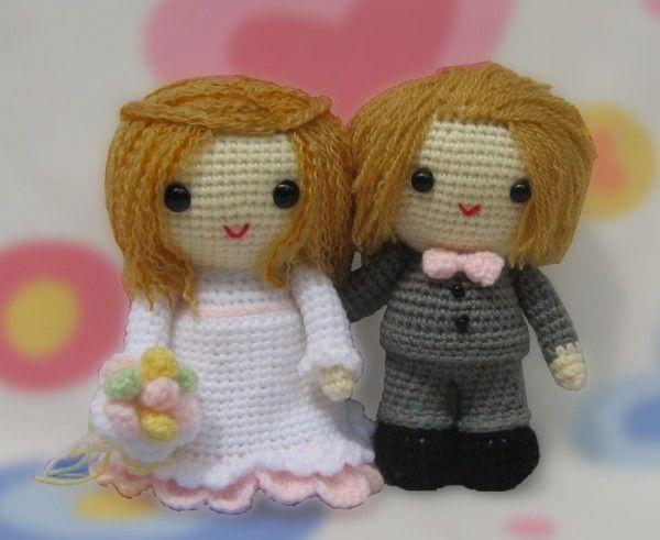 Braut Und Bräutigam Amigurumi Häkelanleitung Brautpaar