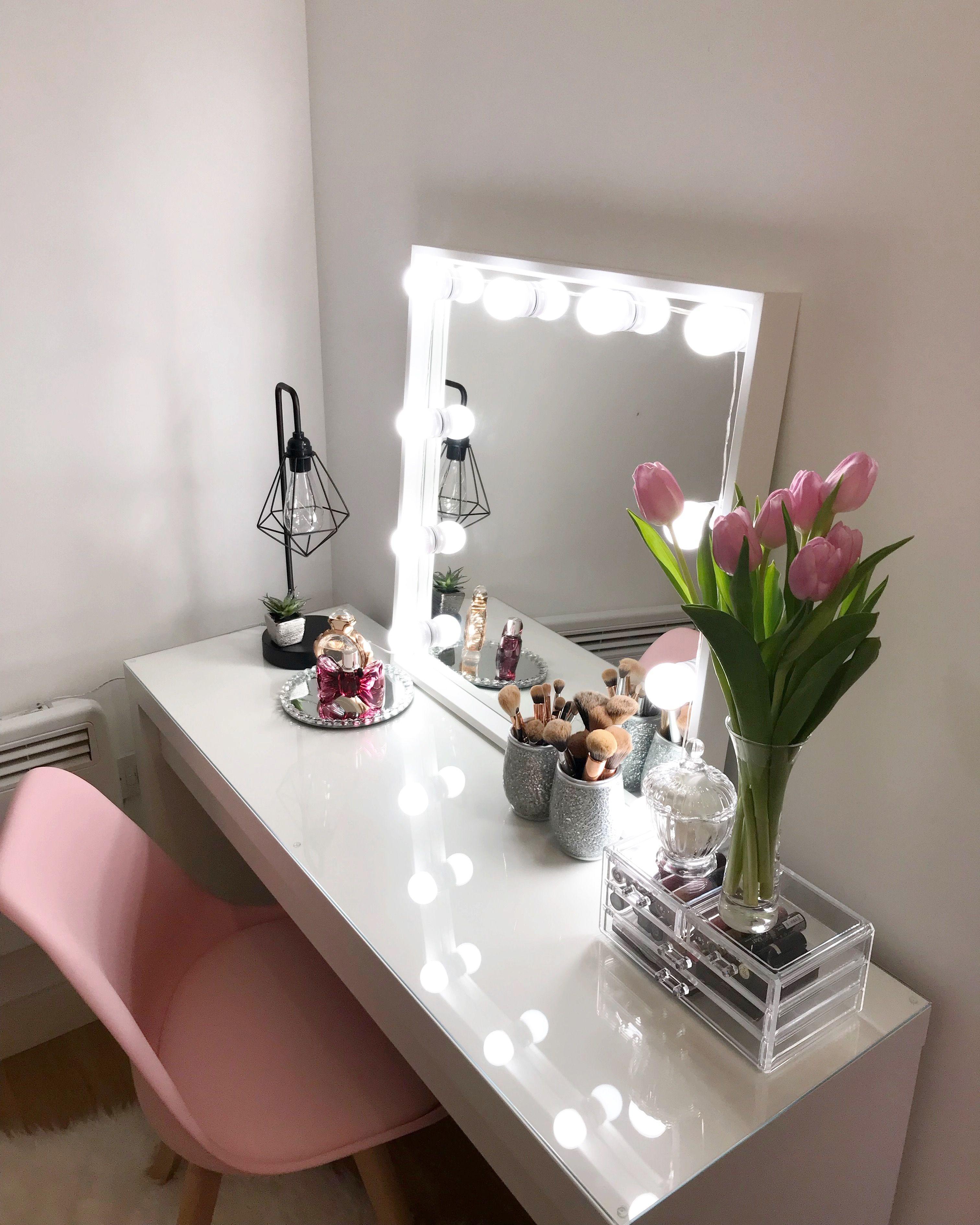 Ikea dressingtable hollywood room pinterest bedrooms room