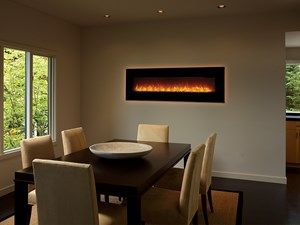 The 64EF Electric Linear Fireplace by Fireplace Xtrordinair offers ...
