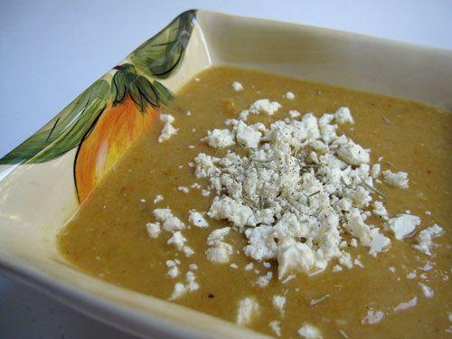 Eat me delicious greek red lentil soup with lemon rosemary and eat me delicious greek red lentil soup with lemon rosemary and feta cheese zucchini blossomsrecipe websitesred forumfinder Images