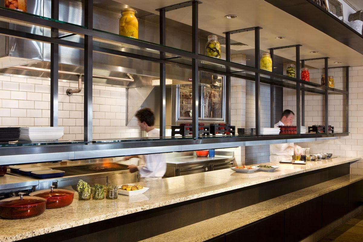 8100 Mountainside Grill | Restaurant kitchen design ...