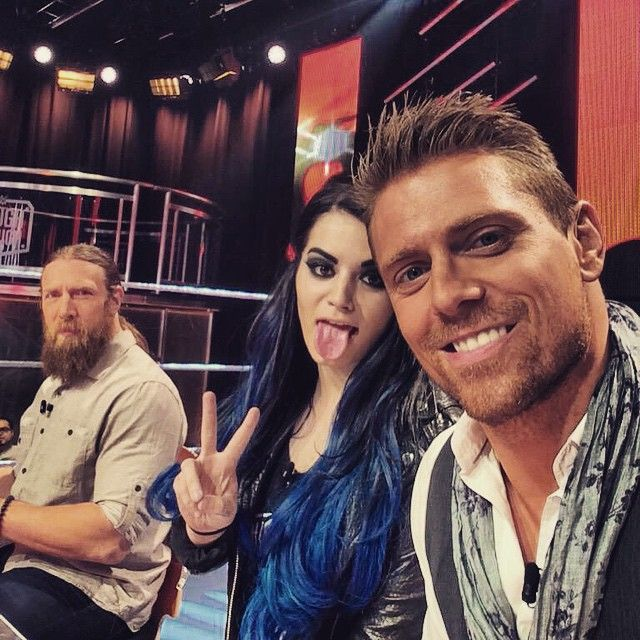 Fun Times At Wwetoughenough Yesterday With Fellow Judges Miz And
