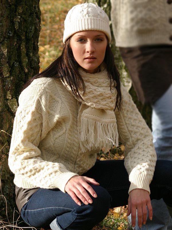 IRISH ARAN CREW NECK SWEATER   C 1347.  34  -  71.36   Irish Sweaters Aran  Sweater 8f8c61f73