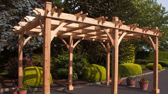 Pin By The Home Depot On Outdoor Living Outdoor Pergola Wood Pergola Pergola