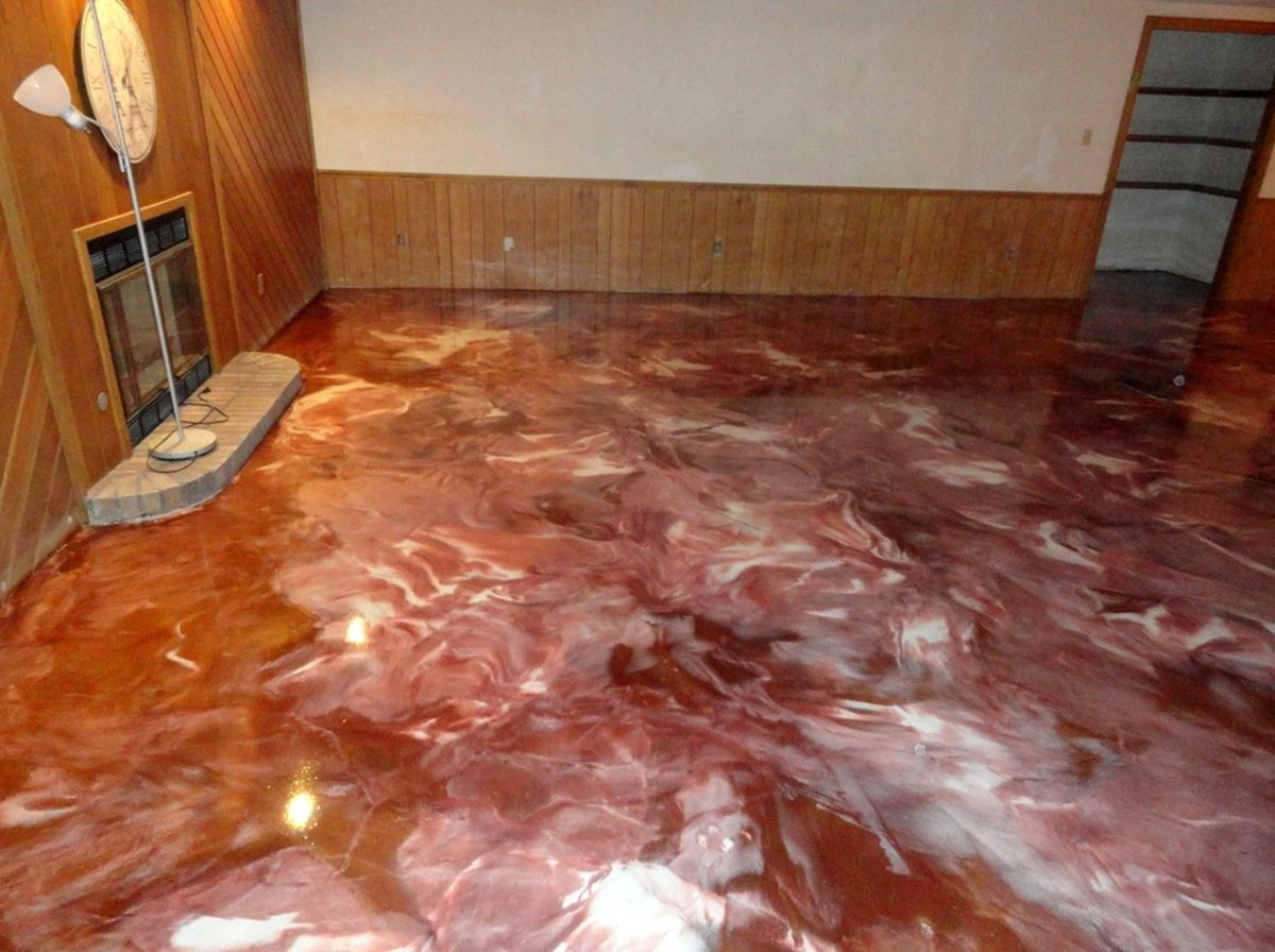 Metallic Marble Flooring Augusta Ga Metallic Epoxy Floor Epoxy Floor Coating Floor Coating