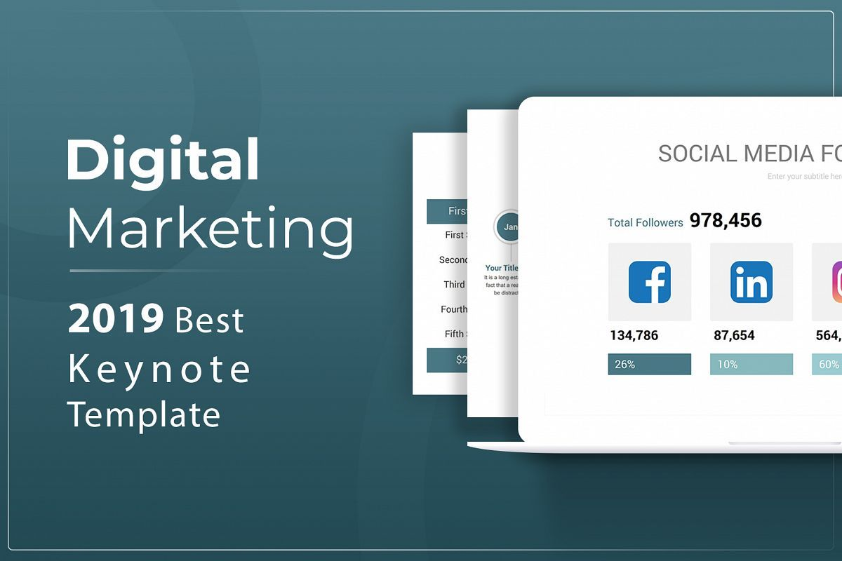 Digital Marketing Keynote Template Description Digital Marketing Keynote Template Is Flexible Clean Simple An Digital Marketing Keynote Template Powerpoint