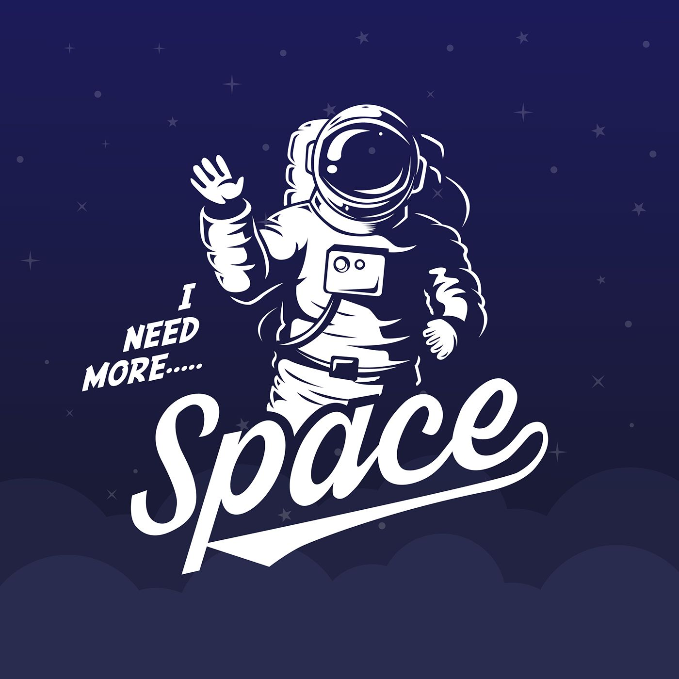 I Need More Space On Behance
