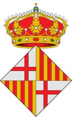 Escudo catalán.