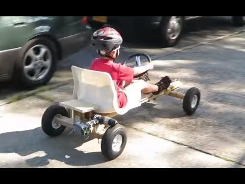 Diy Easy To Build Electric Drill Go Kart