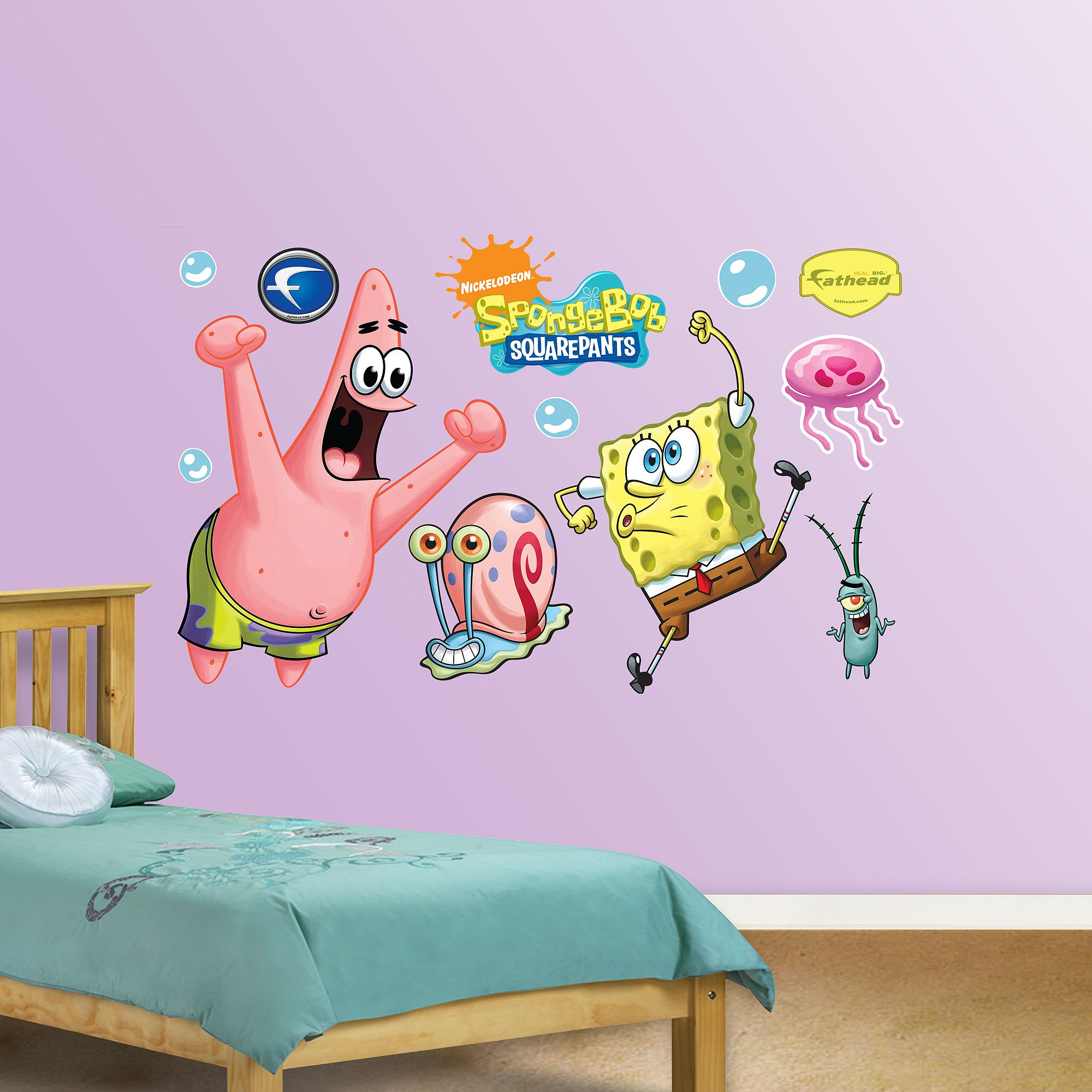 Spongebob And Patrick Disney Wall Decals Pony Wall Disney Wall
