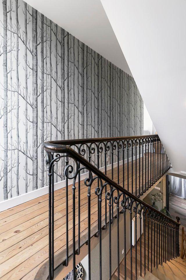 Couloir  astuces déco, peinture, papier peint Corridor - repeindre du papier peint