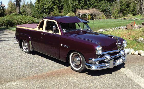1951 Ford Australian Ute Pickup Trucks Australian Cars Ford