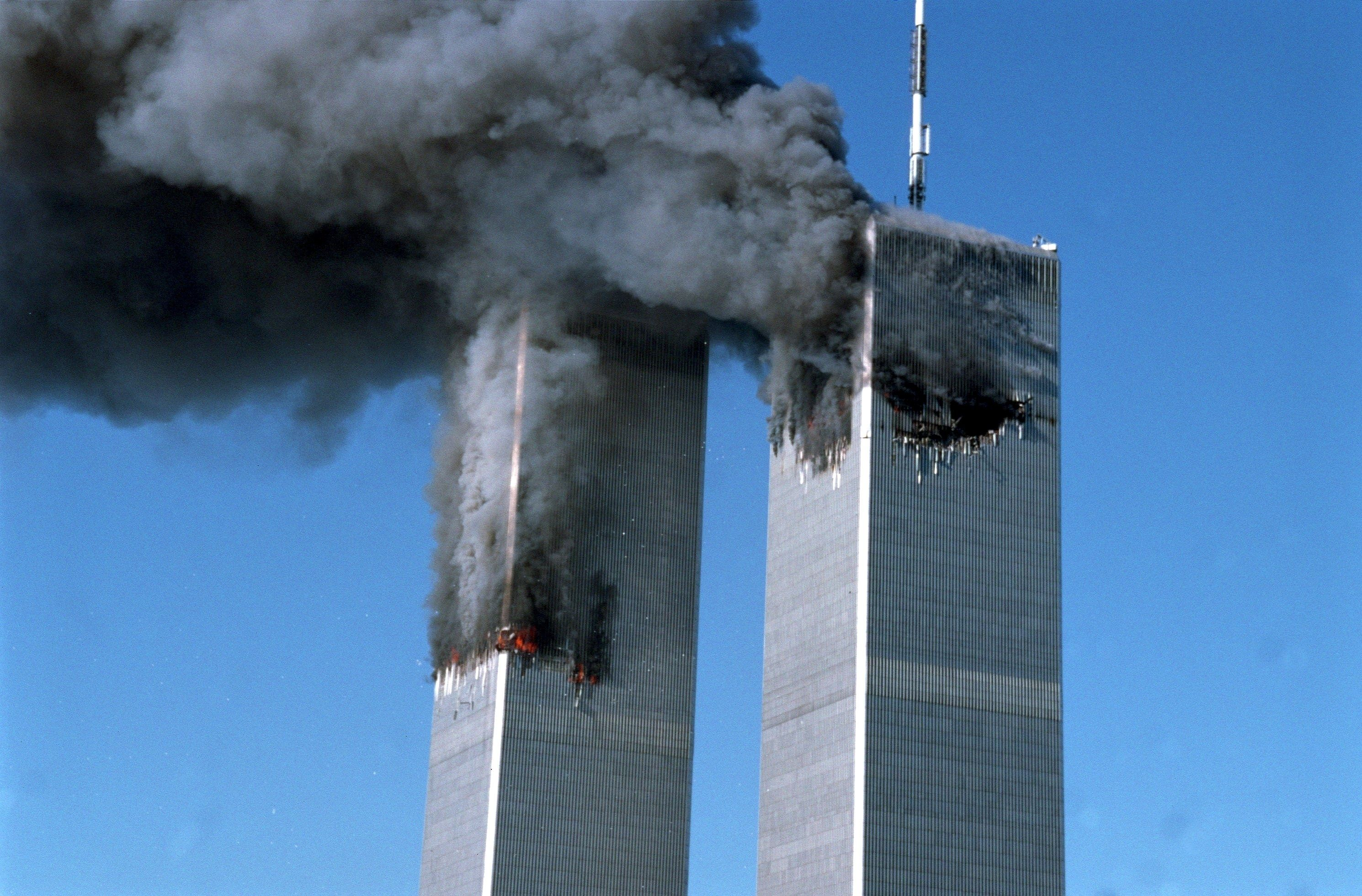 years later the unquiet hero twin towers collapse and  11 years later the unquiet hero