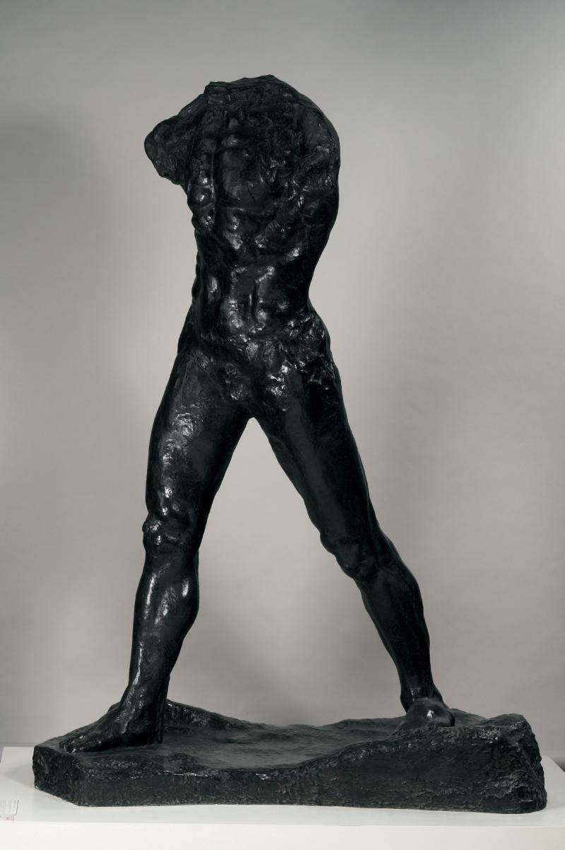 Resultado de imagen de rodin un hombre andando