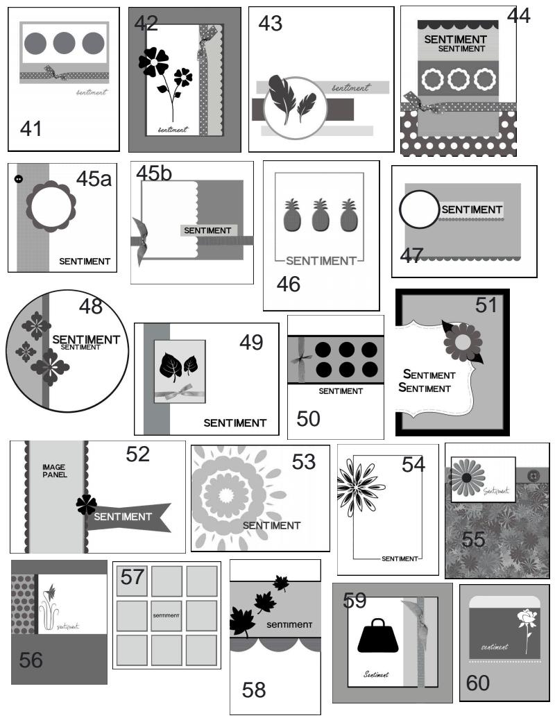 Card Making Ideas Pdf Part - 29: CAS-flt1_127.pdf · Scrapbook SketchesCard SketchesCard PatternsSketch IdeasDiy  CardsPocket ...
