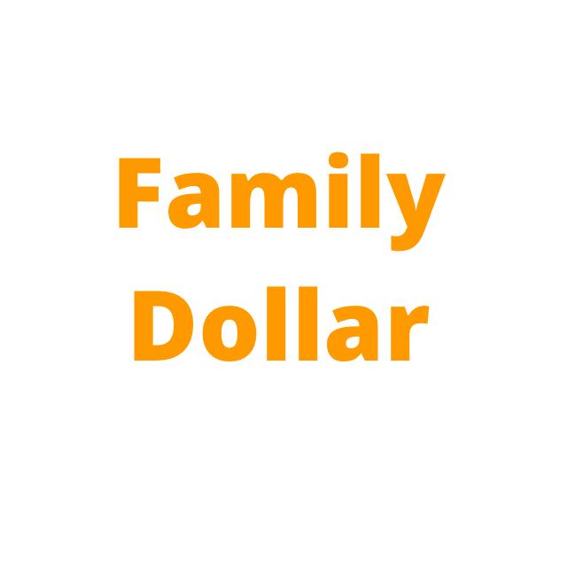 Familydollar Family Dollar Saving Money Paper Money