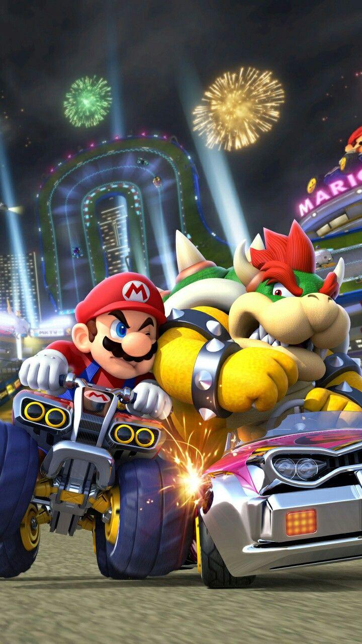 Mario Vs Bowser Supermario Wallpaper Wallpaper Super Herois Super Heroi