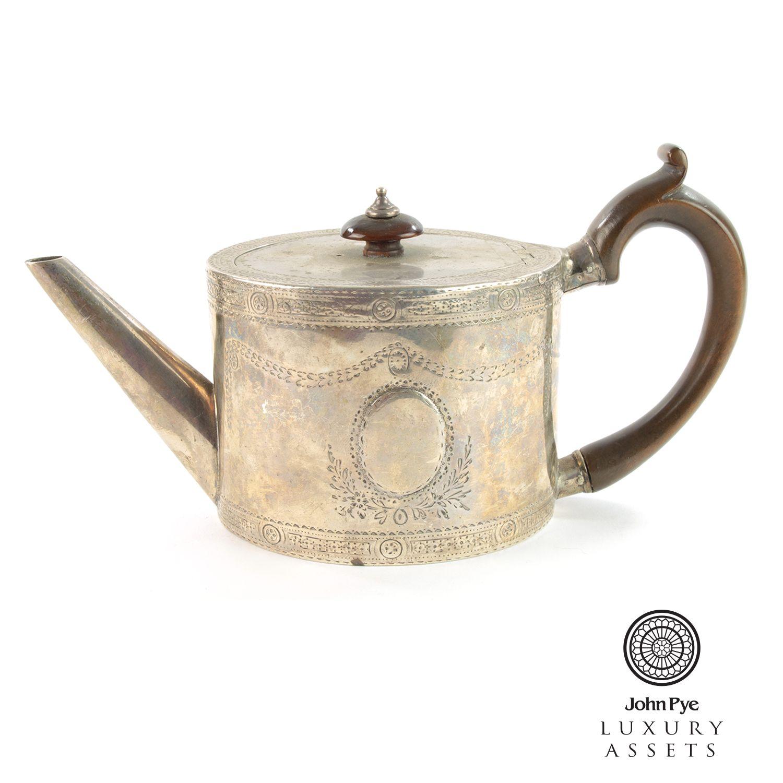 1777 georgian #sterling #silver #teapot