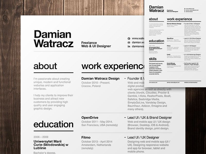The Essential Elements of Creative Resume Design As and Layout - resume design