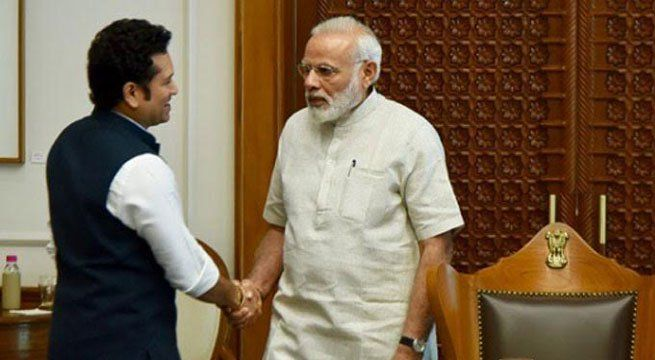 New Delhi: Prime Minister Narendra Modi and cricket icon Sachin Tendulkar, among others, lavished praise on Kidami Srikanth for claiming the Australian Open title with a stunning win over reigning Olympic and world champion Chen Long. It was Srikanth's fourth Super Series title and the...