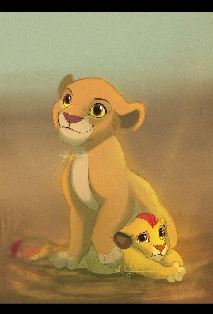 Kiara And Kion Disney Disney Lion King Lion King Baby