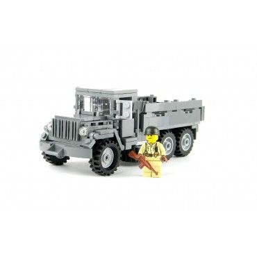 lego army truck military m35 trucks visit bricks custom sets ww2 description complete things stuff