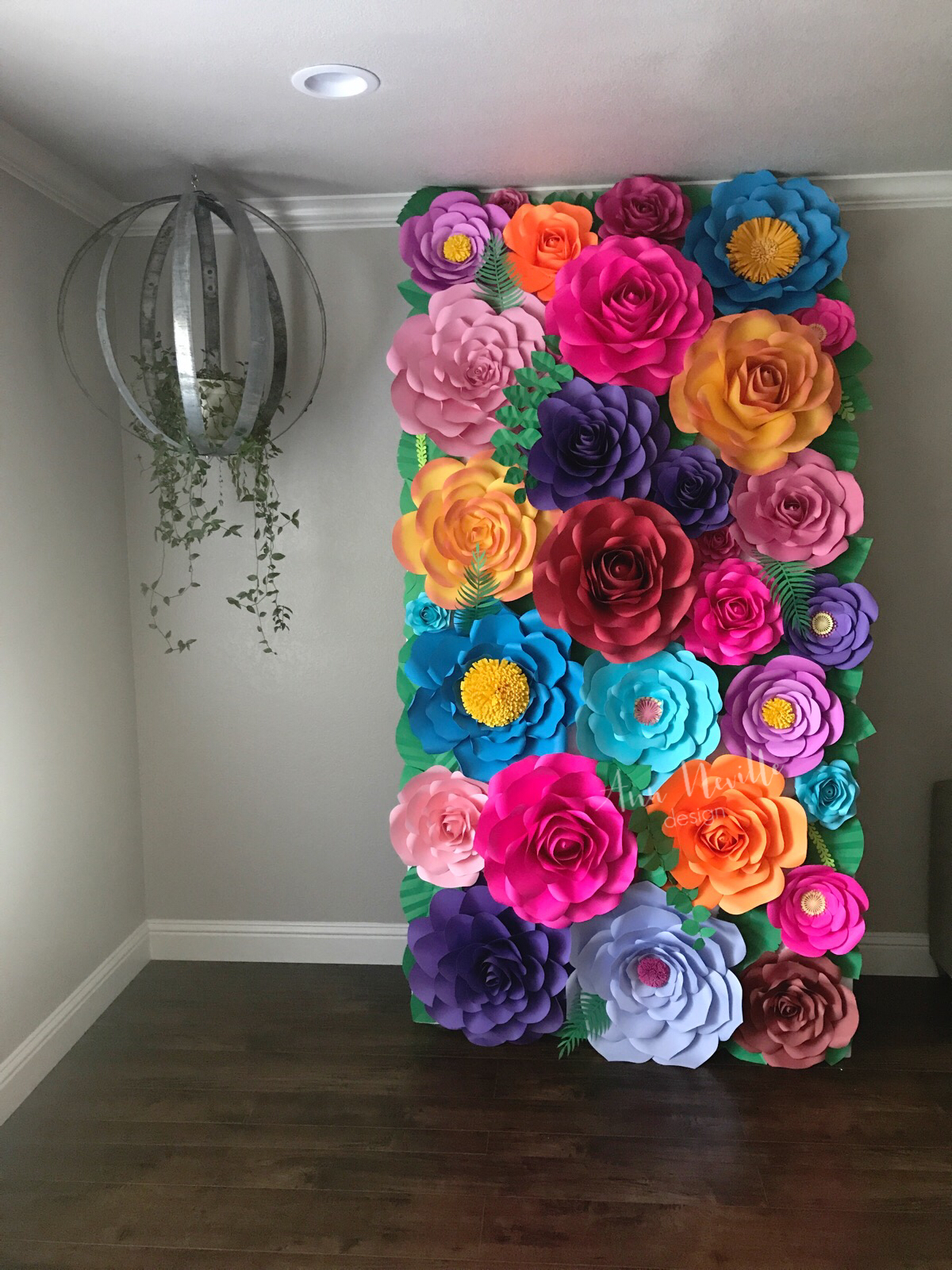 Flower Walls Handmade Flowers Paper