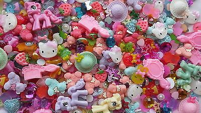 'new' 50 pc cute cabochon mix - phones, #cardmaking- #hello kitty- #teddies- bows,  View more on the LINK: 	http://www.zeppy.io/product/gb/2/191405256137/