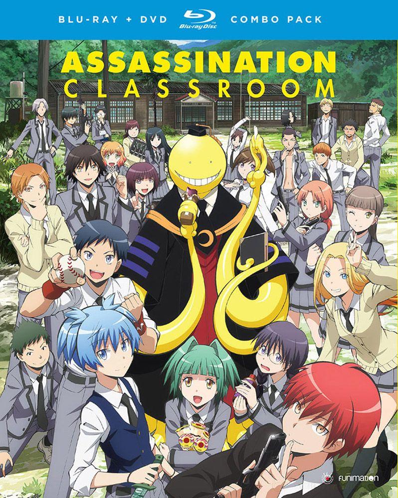 Assassination Classroom Season 1 Part 1 Blu Ray Dvd