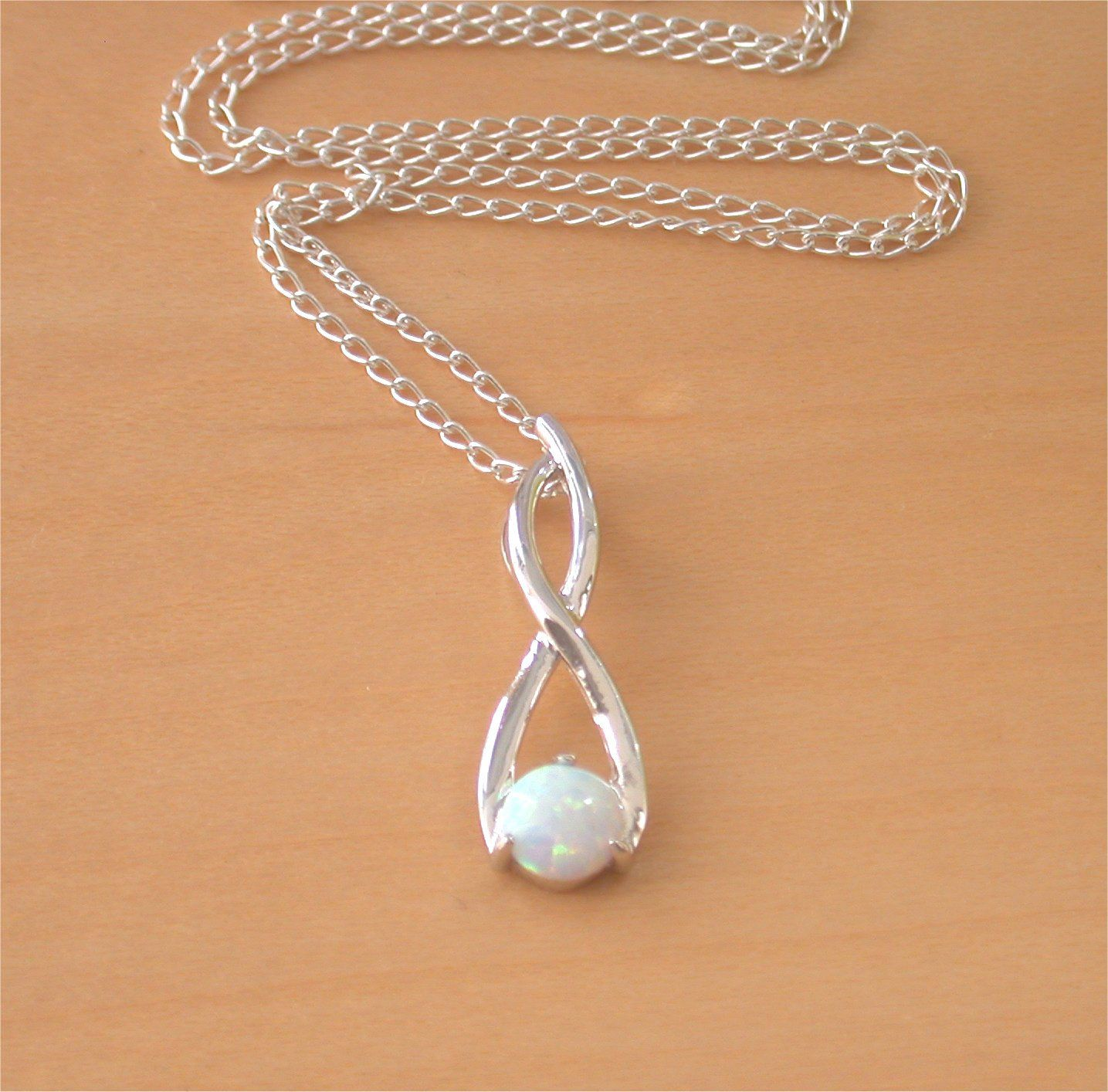 sapphire plated and jewelry in pendant opal silver sterling cat ct rose white necklace created gold