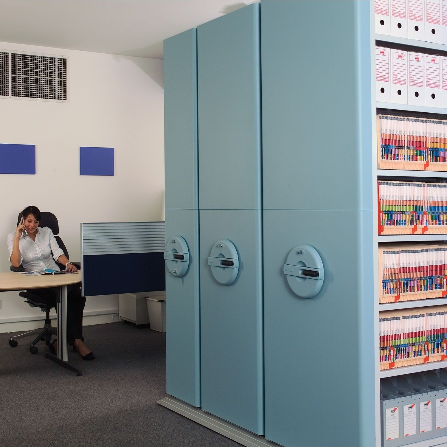 Awesome InnerSpace Mobile Shelving Is A High Density Filing And Archiving Storage  Systemu2026