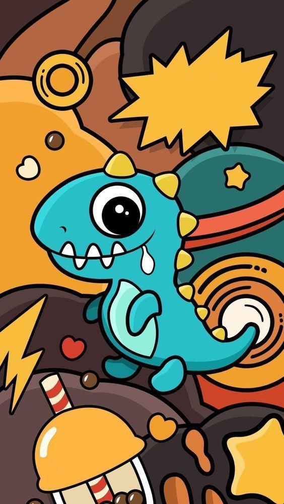 Dinosaur Graphic Illustration | EPIC Goods