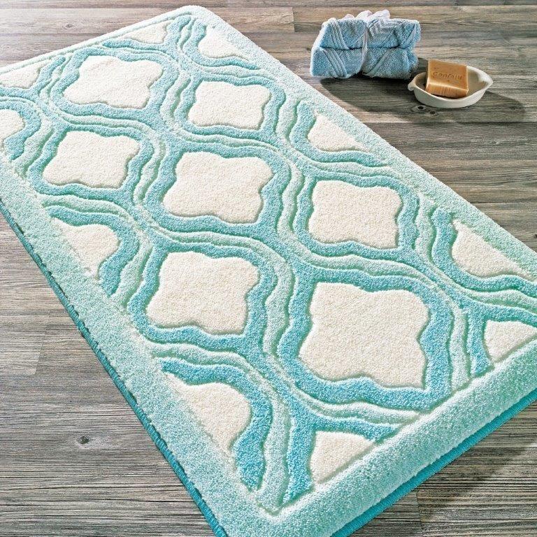 Antdecor Tiffany Theme Non-Slip Bathroom Rug Shag Shower Mat Machine ...