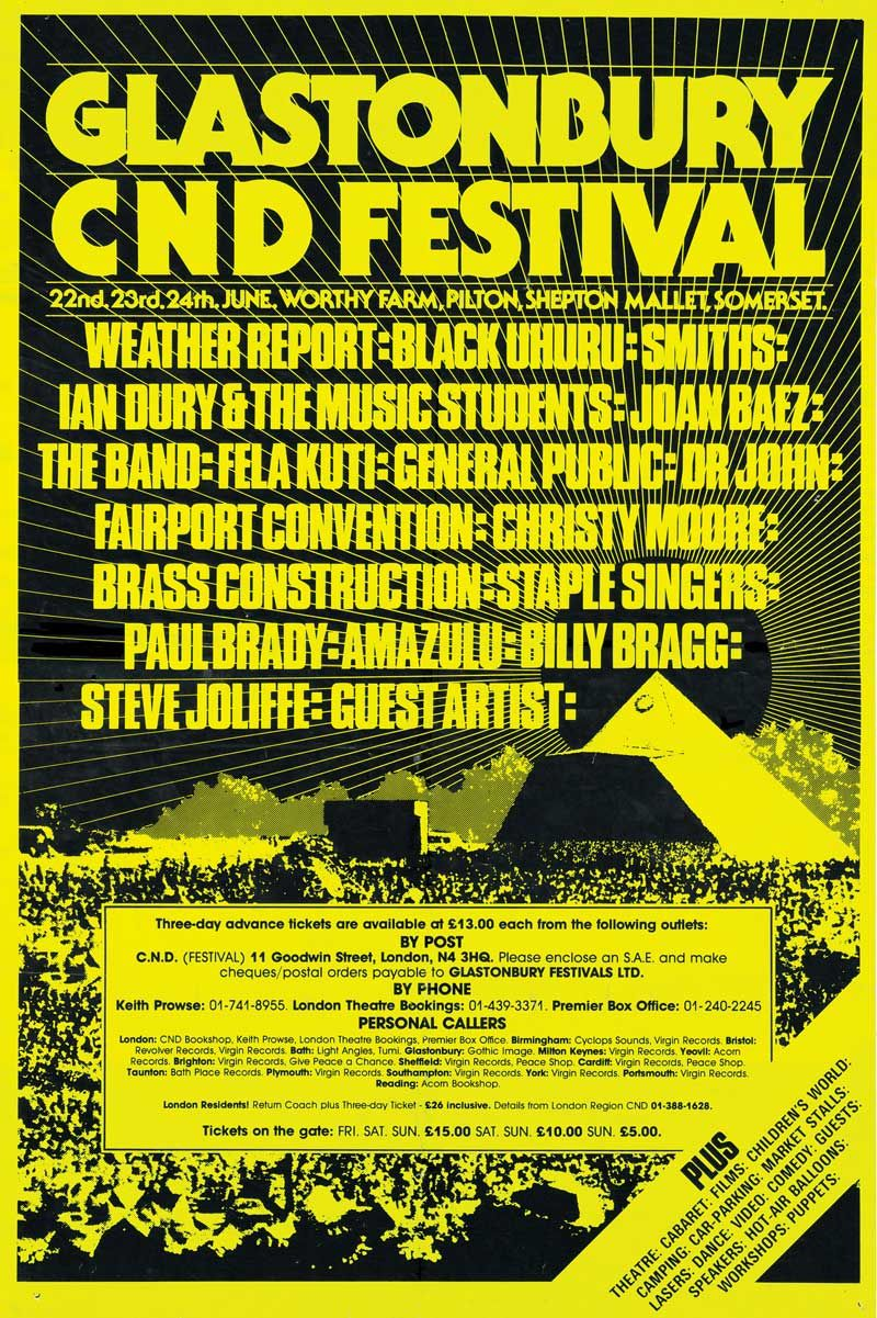 Glastonbury 1984