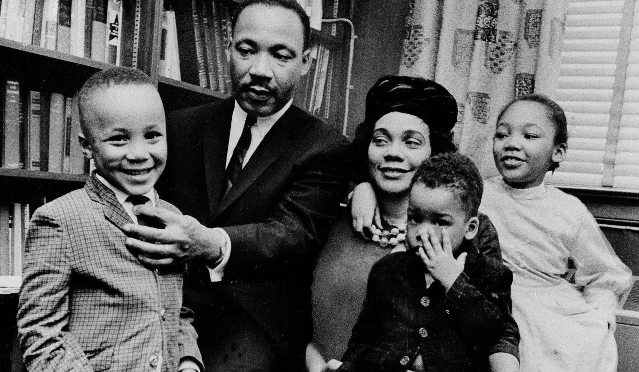 Image result for martin luther king family