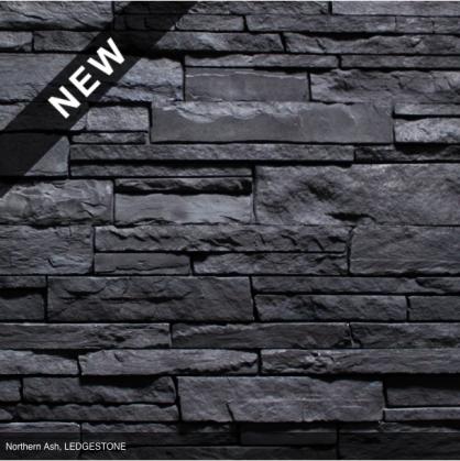 Versetta Stone Northern Ash Black Charcoal Dark Cool