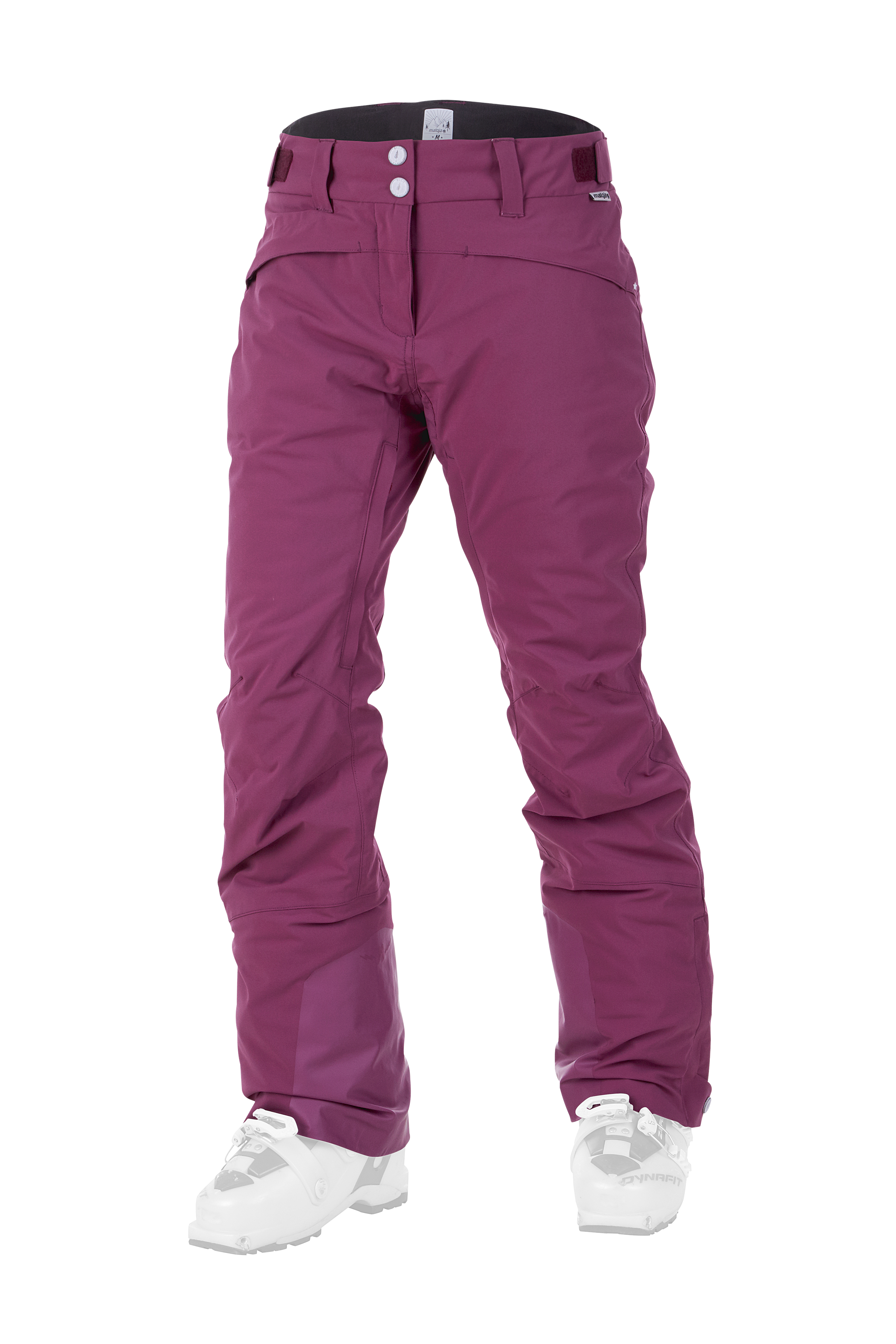 padded ski pants