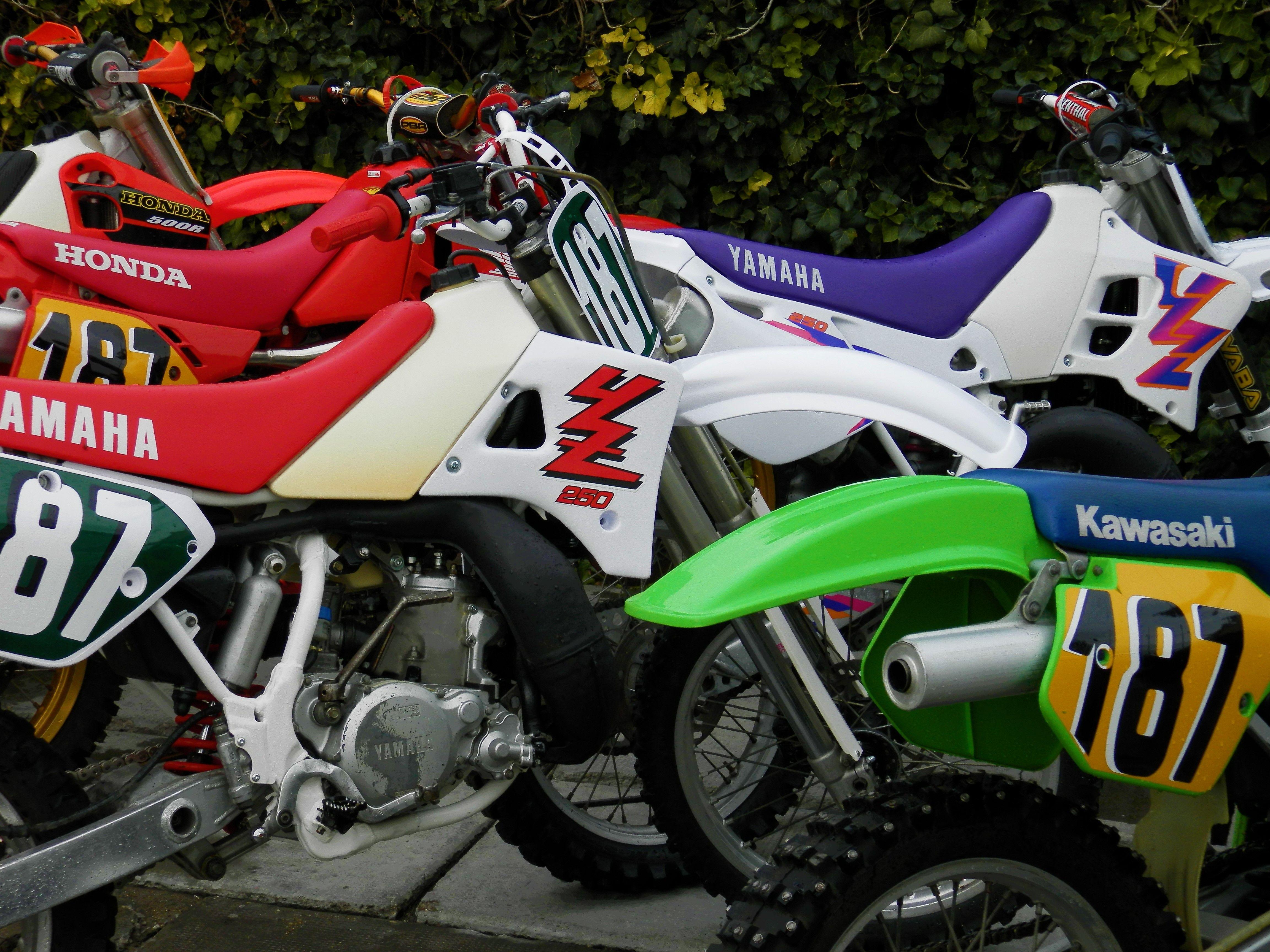 Mx2t Hu Yamaha Honda Kawasaki