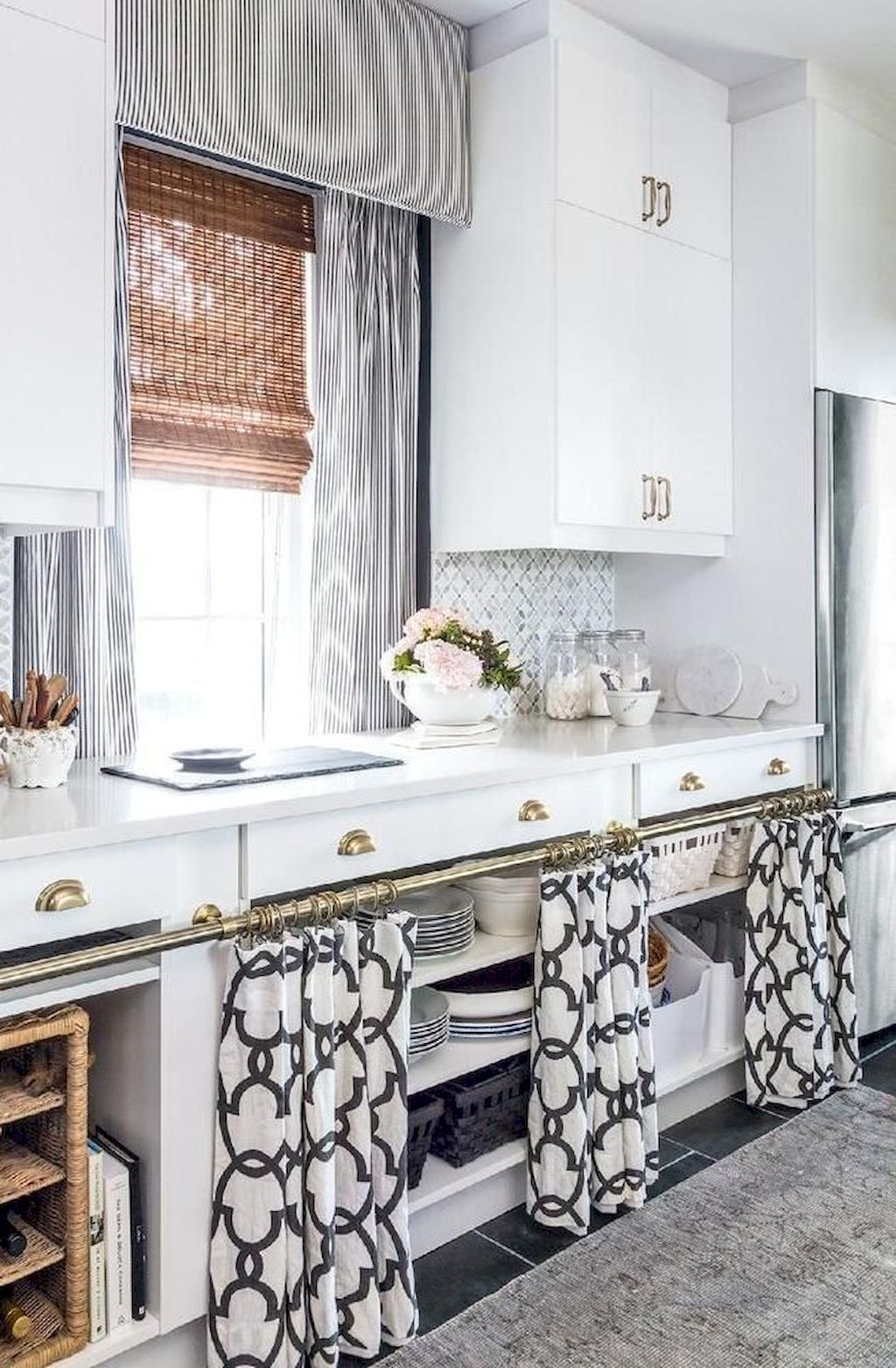 Sumptuous Superior Kitchen Curtain Concepts You Have to Attempt ...