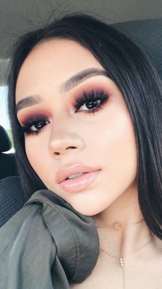 10 ideas de maquillaje de noche para mujeres de piel morena