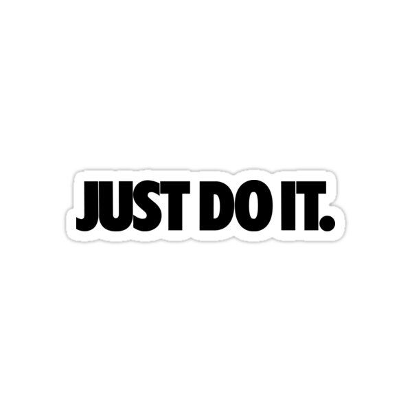 Nike Just Do It Sticker By Colbybeckwith In 2020 Just Do It Slogan Stickers