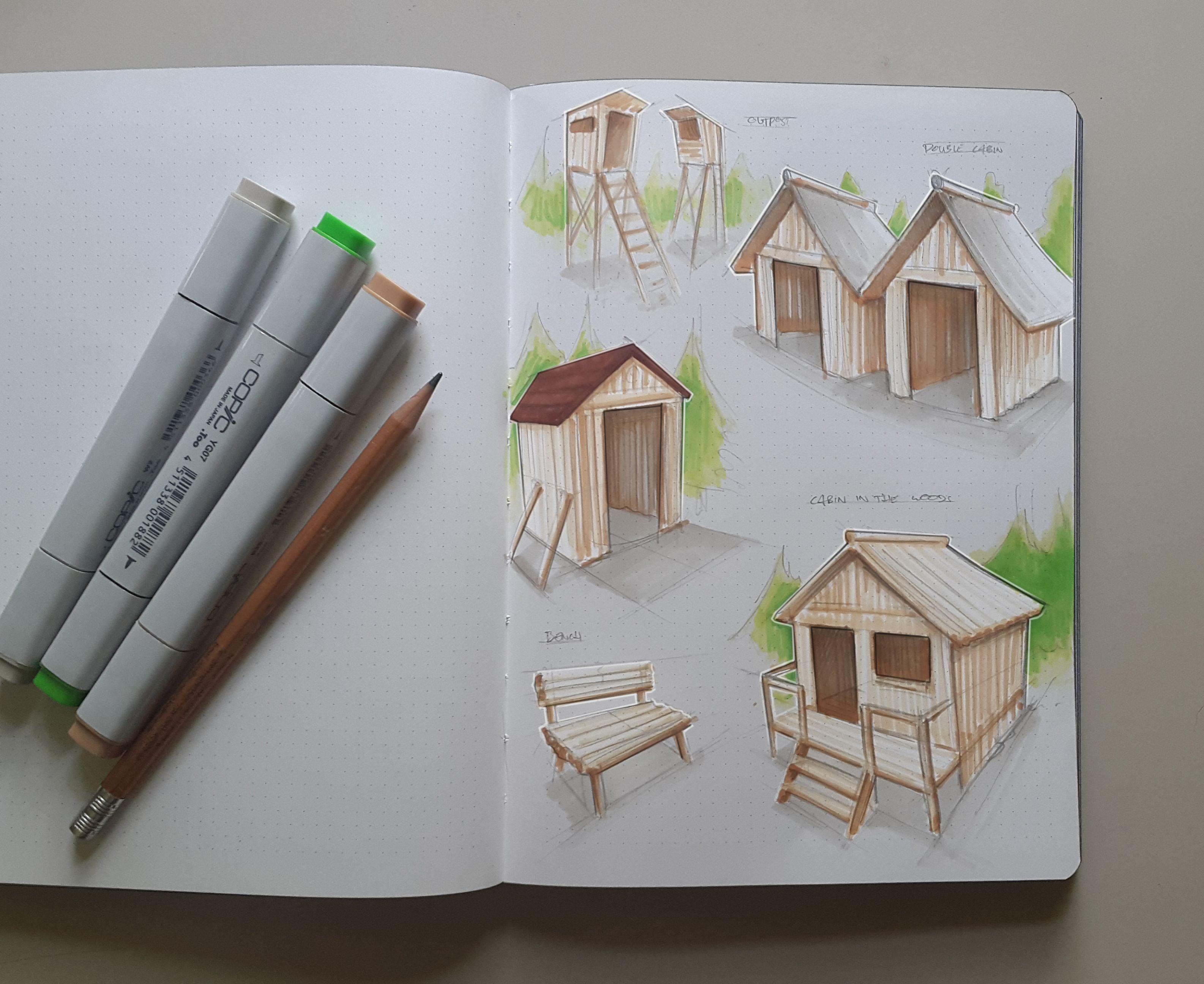 Sketchbook 2016 (Part 1) on Behance