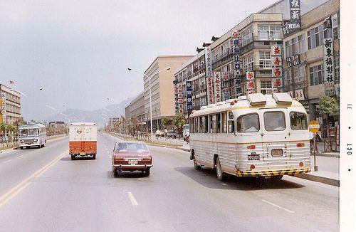 1971年的台北市信義路