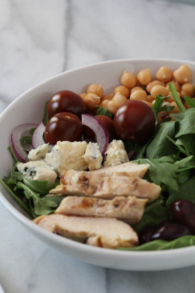 Mediterranean cobb salad food matters project pidges pantry food forumfinder Image collections