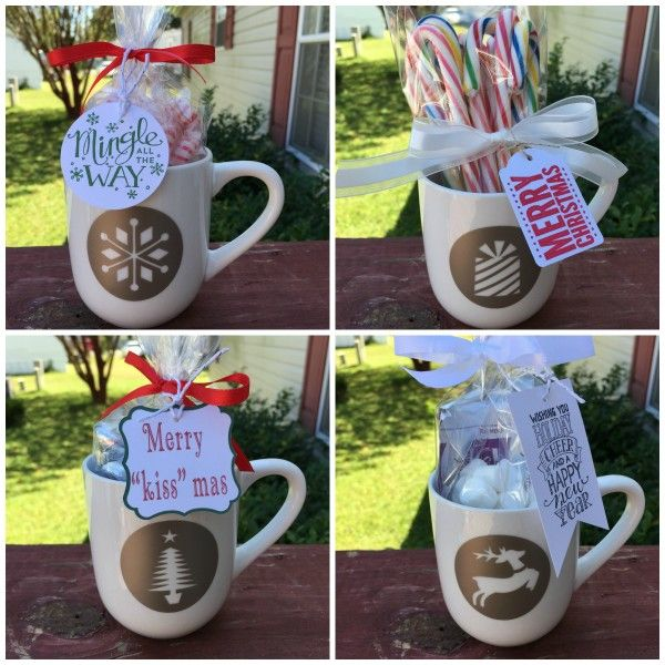 Holiday Mug Decals made with Cricut Explore, Make It Now ...