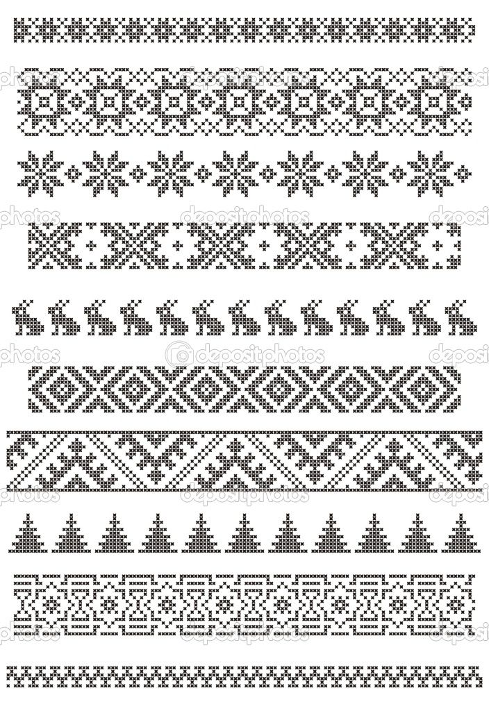 knit fair isle pattern