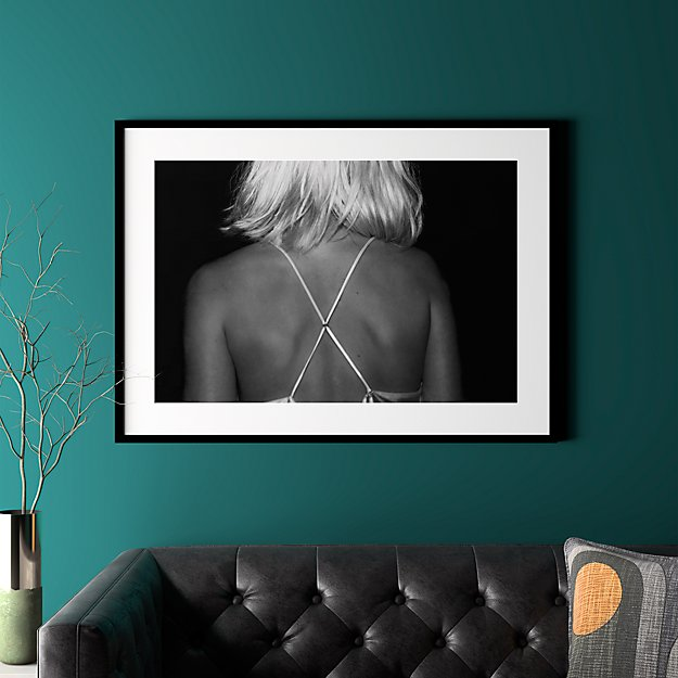 Black And White Photography Wall Art By Nicole Cohen Cb2 Dark Wood Frames Photography Wall Art Modern Art Prints