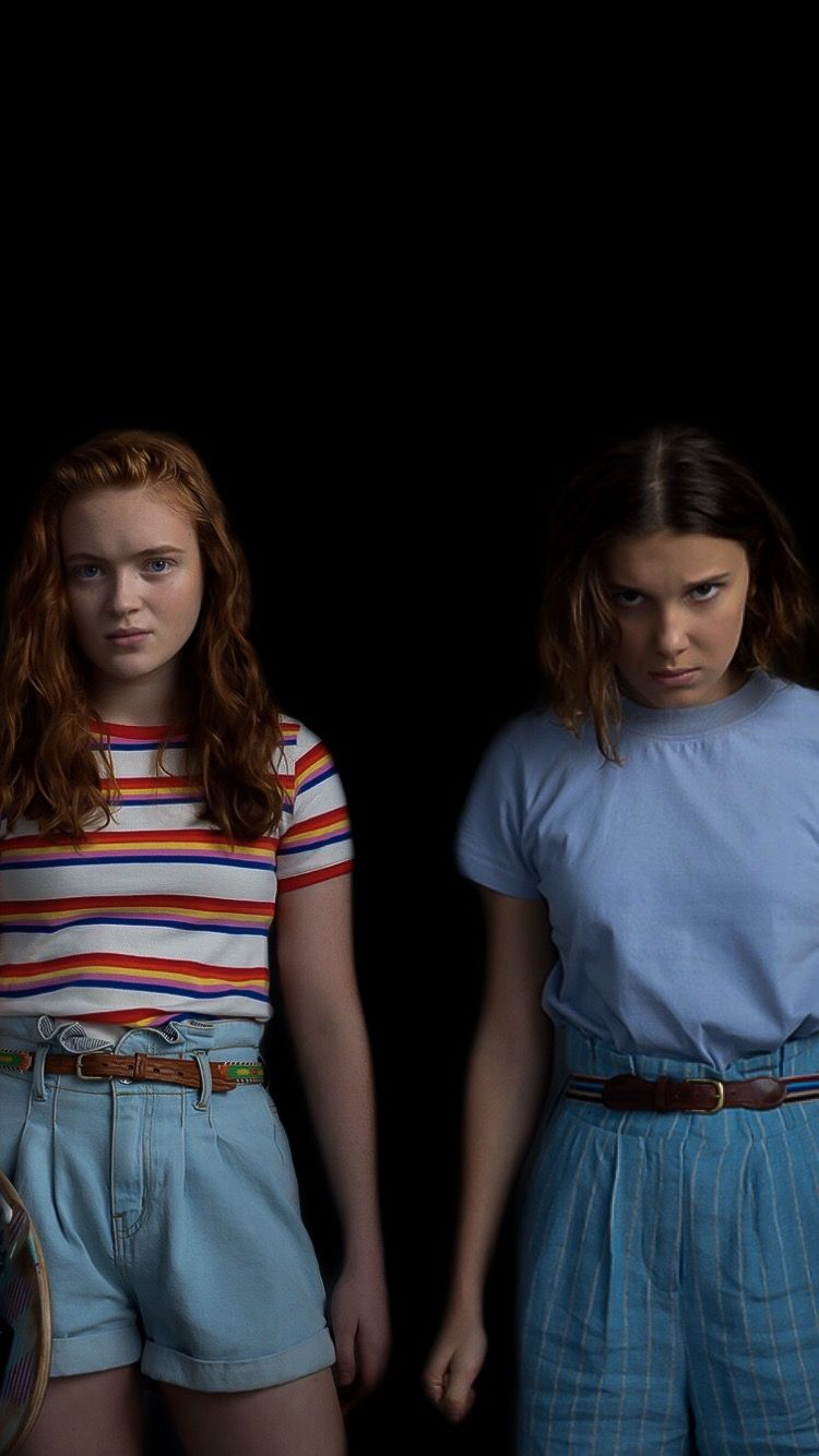 Max And Eleven Wallpaper Stranger Things Outfit Bobby Brown Stranger Things Stranger Things Actors