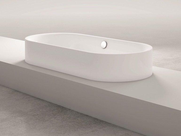 Vasca Da Bagno Bette : Vasca da bagno a semincasso ovale bettelux oval highline bette