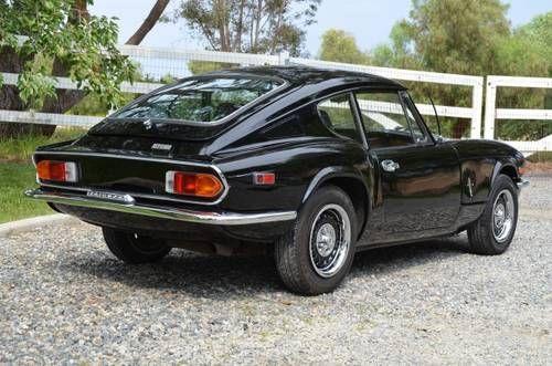 1971 Triumph Gt6 Mk3 Clean Solid Restored Black Lhd For Sale